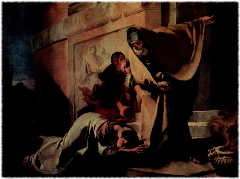 Изгнания Агари и Измаила из дома Авраама