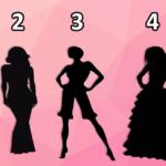Тест: узнайте свою личность, выбрав женский силуэт