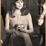 Звезда советского кино Ирина Алферова на конкурсном отборе красивых девушек. Новосибирск, 1968 год