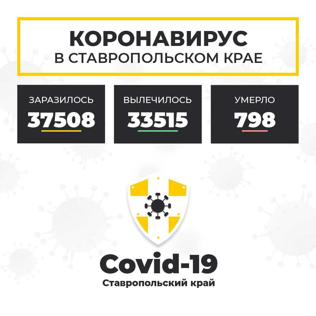 Коронавирус в Ставропольском крае на 10 января 2021 года по районам и селам: сколько заболело на сегодня