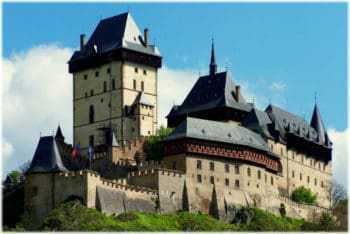 Замок Карлштейн, Прага