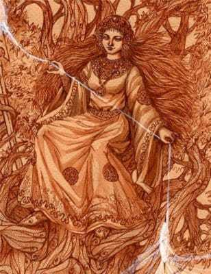 Богиня судьбы Мокошь