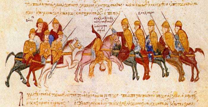 Болгарская армия царя Самуила громит византийские войска при Салониках (996).