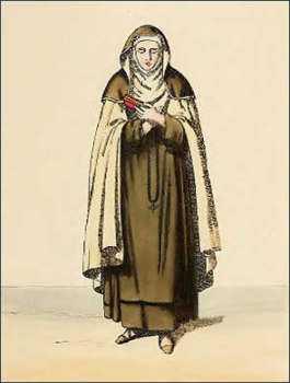 Монахиня кармелитка