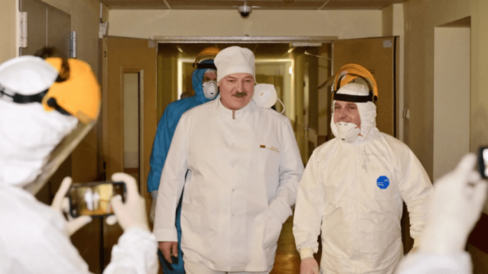 Забавная ситуация с Лукашенко произошла в минской больнице