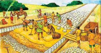 Дороги в древнем Риме