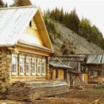 Взгляните на фото. Где трубы на крестьянских домишках 19-20 века?