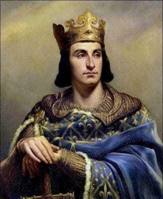 Король Франции Филипп IV Красивый