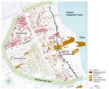 План города Хедебю