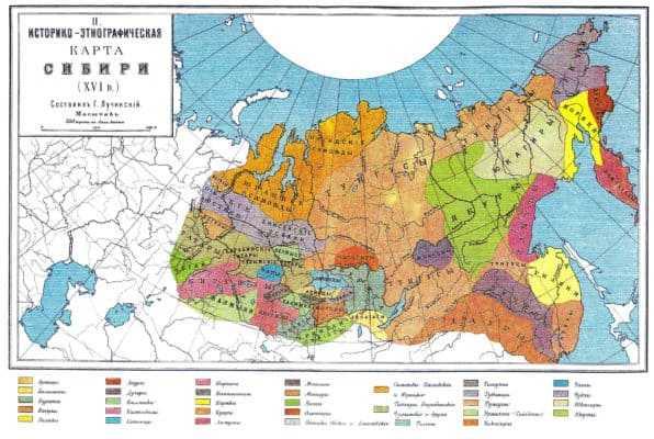 Народы Сибири в XVI веке