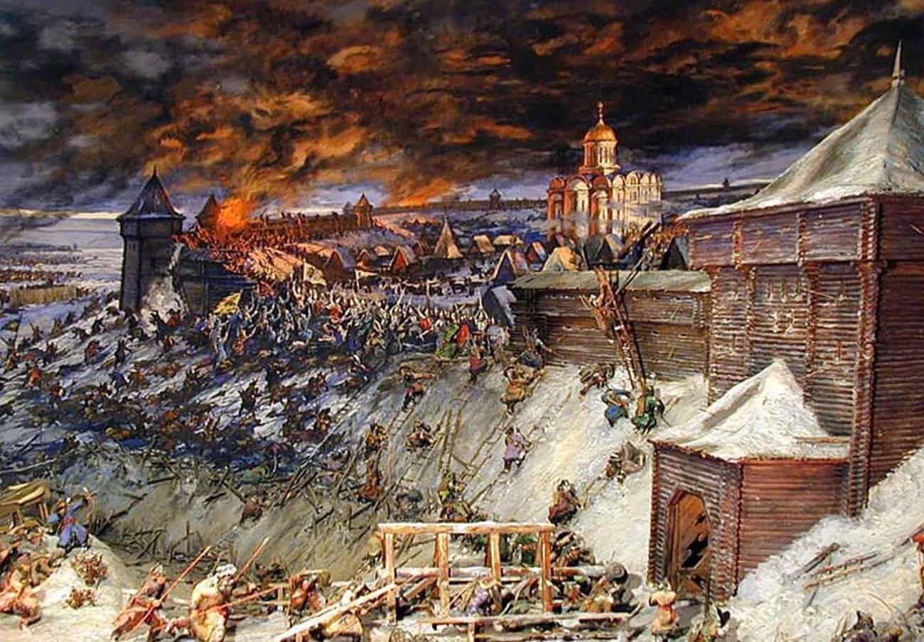 Первое нашествие татар на русские земли