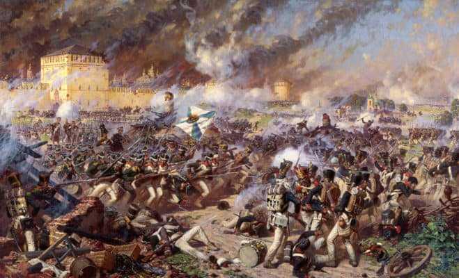 Аверьянов. Оборона Смоленска 5 (17) августа 1812 г.