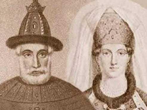Отец и мать Ивана Грозного