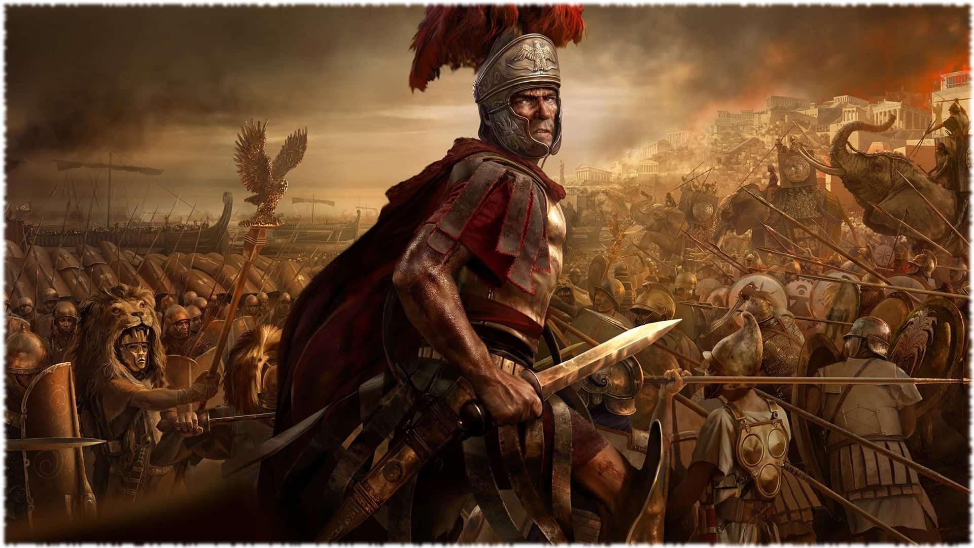 Оружие армии Древнего Рима