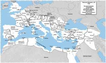 Римская империя в 107 году