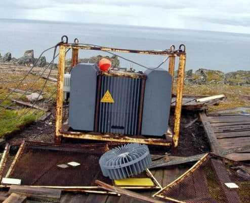 Выведенные из эксплуатации радиоизотопный термоэлектрический генератор