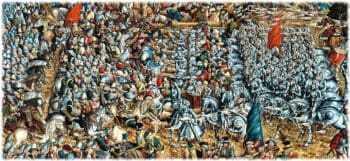 Битва литовского войска с московским в 1514Битва литовского войска с московским в 1514
