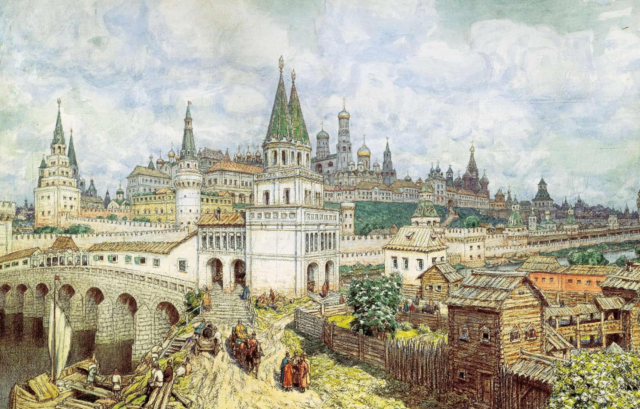 А. Васнецов «Расцвет Москвы»
