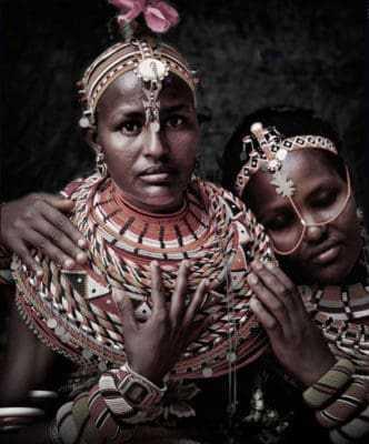 Женщины племени самбуру