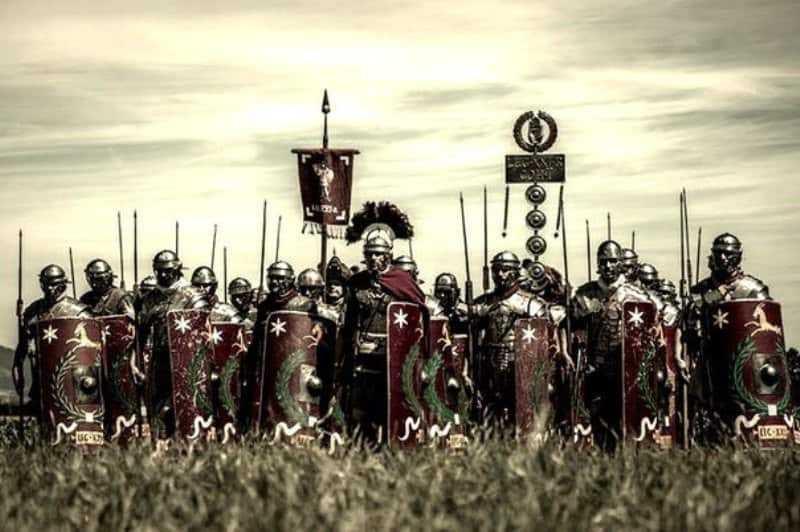 Тяжелая римская пехота