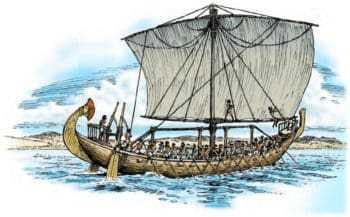 Возникновение парусного судоходства в Древнем Египте