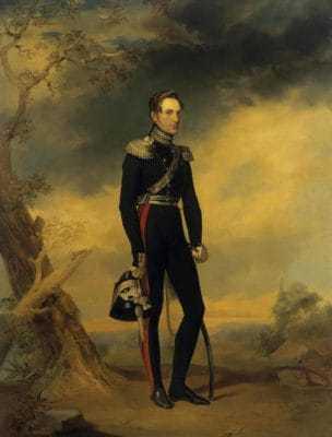 Портрет великого князя Николая Павловича — художник Егор (Георг) Иванович Ботман
