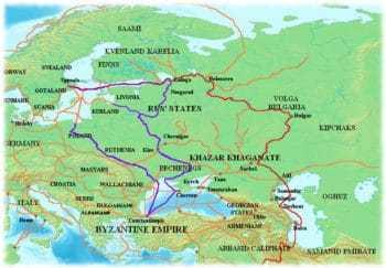 Волжский, или Волго-Балтийский торговый путь