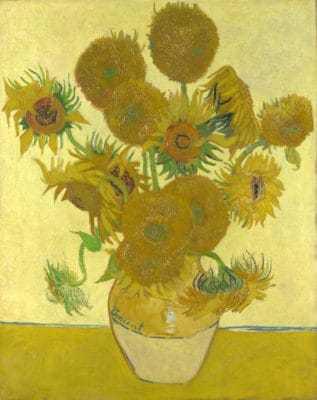 Винсент ван Гог, Подсолнухи. 1888