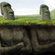 Почему на острове Пасхи все статуи в виде голов