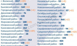 Коронавирус в Волгоградской области на 27 сентября 2020 года по городам и районам: сколько заболело и умерло