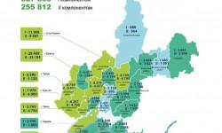 Коронавирус в Иркутской области на 24 июня 2021 года по городам и районам: сколько заболело