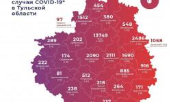 Коронавирус в Тульской области на 27 февраля 2021 года по городам и районам: сколько заболело и умерло