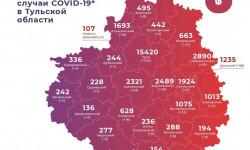 Коронавирус в Тульской области на 10 апреля 2021 года по городам и районам: сколько заболело и умерло