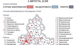 Коронавирус в Ростове-на-Дону 2 августа 2020 года: сколько заболевших на сегодня