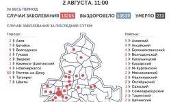 Коронавирус в Ростове-на-Дону 3 августа 2020 года: сколько заболевших на сегодня