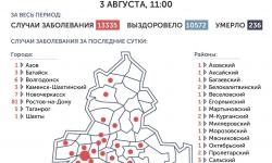 Коронавирус в Ростове-на-Дону 4 августа 2020 года: сколько заболевших на сегодня