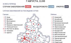 Коронавирус в Ростове-на-Дону 8 августа 2020 года: сколько заболевших на сегодня