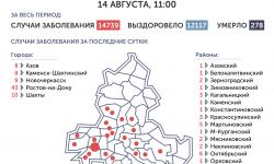 Коронавирус в Ростове-на-Дону 15 августа 2020 года: сколько заболевших на сегодня