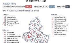 Коронавирус в Ростове-на-Дону 17 августа 2020 года: сколько заболевших на сегодня