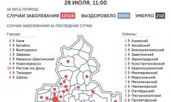 Коронавирус в Ростове-на-Дону 29 июля 2020 года: сколько заболевших на сегодня